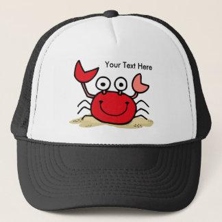 Too Cute Crab Custom Hat