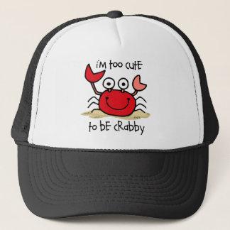 Too Cute Crab Trucker Hat