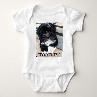 """Too Cute"" infant sleeper by Zoltan Buday Baby Bodysuit"