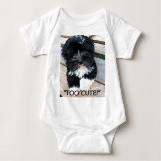 """Too Cute"" infant sleeper by Zoltan Buday Tshirts"