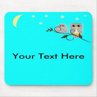 TOO CUTE OWLS Mousepad