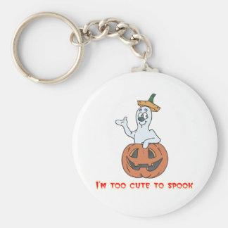 Too Cute Pumpkin Keychain