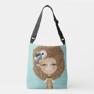 Too cute to be true Doll front Polka dots back Tote Bag