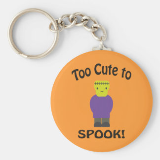 Too Cute To Spook - Frankenstein Key Chain