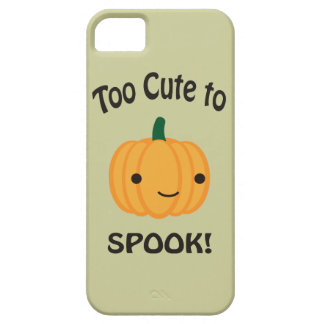 Too Cute To Spook! Little Pumpkin iPhone 5 Cases