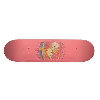 Too Cute To Spook Skate Board Deck