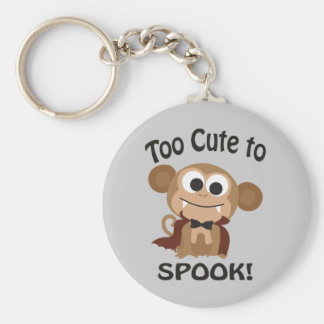 Too Cute To Spook! Vampire Monkey Keychains