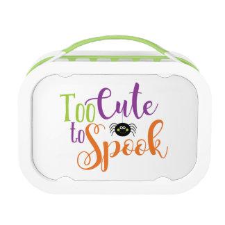 Too Cute To Spook - Yubo Lunchbox Green