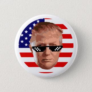too donald trump 6 cm round badge