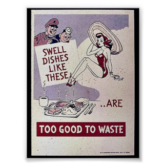 Too Good To Waste Poster