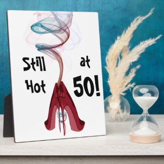 Too Hot Red Stiletto Shoes Art Plaque