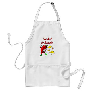 Too Hot to Handle Chef Apron