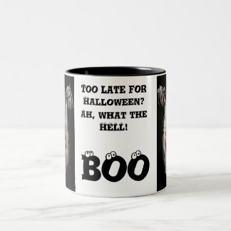 Too Late for Halloween? Two-Tone Coffee Mug