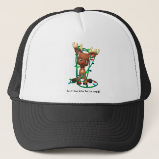 Too Late to Be Good? Trucker Hat