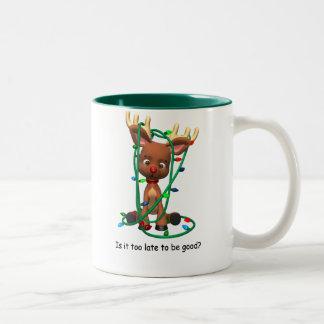 Too Late to Be Good? Two-Tone Coffee Mug