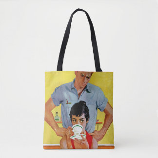 Too Late To Make Up Tote Bag