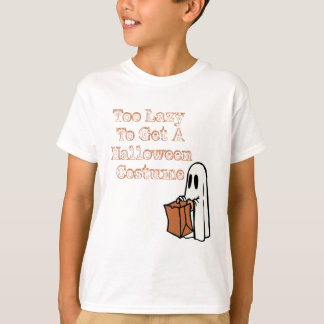 Too Lazy To Get To Holloween Costume T-Shirt