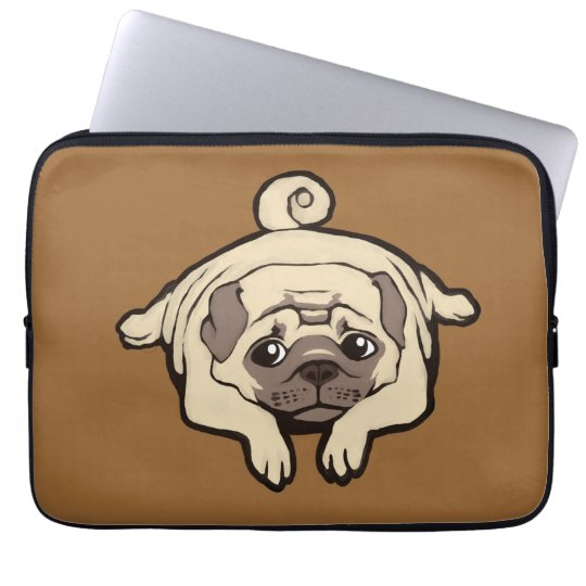 Too lazy to pug laptop sleeve