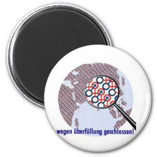 too many 6 cm round magnet