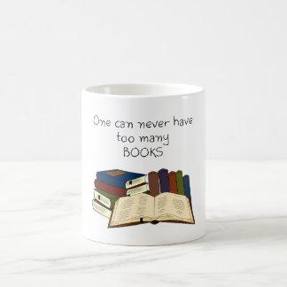 Too Many Books?! Coffee Mug