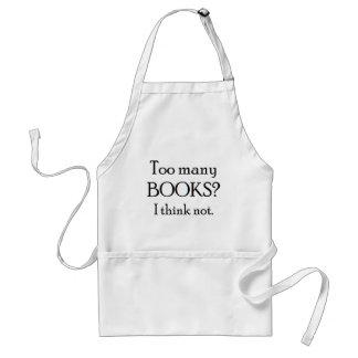 too many books standard apron