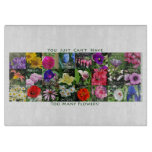 Too Many Flowers! Cutting Board