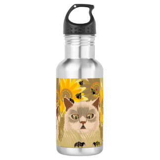 Too Many Ladybugs Neutral 532 Ml Water Bottle