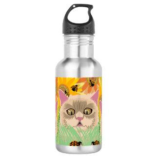 Too Many Ladybugs - Pastel 532 Ml Water Bottle