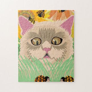 Too Many Ladybugs -Pastel Puzzles
