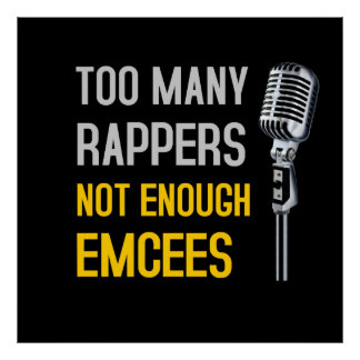 Too Many Rappers - Poster