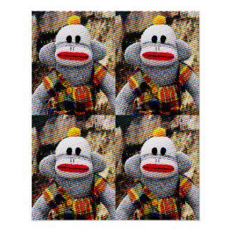 Too Many SockMonkeys Poster