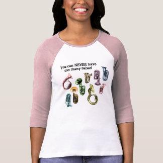 Too many tubas t-shirt