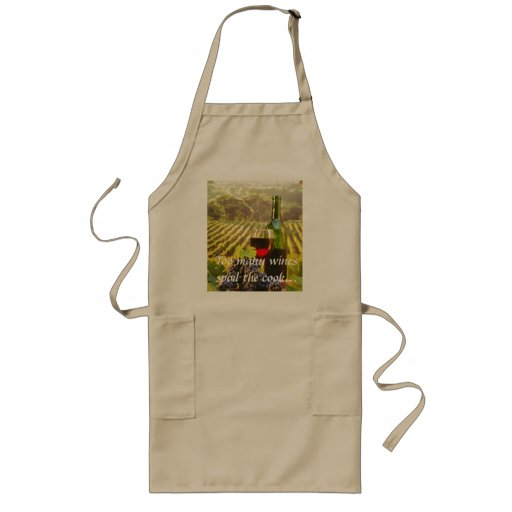Too many wines spoil the c... apron