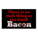 Too much BACON? Business Card Templates