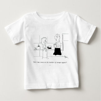 Too Much Coffee Baby T-Shirt