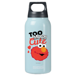 Too Much Cute Elmo Insulated Water Bottle