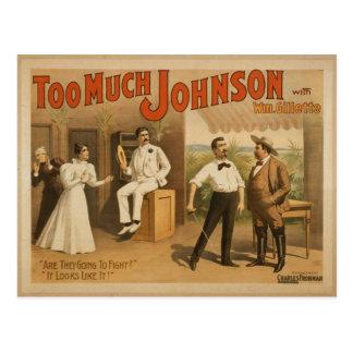 Too Much Johnson Postcard