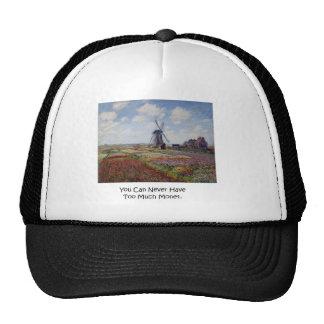 Too Much Monet Cap Hat.