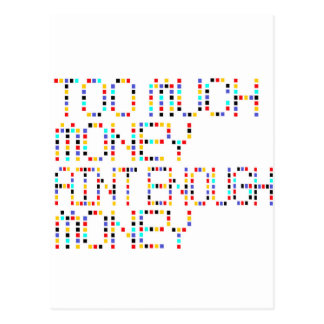 Too Much Money Aint Enough Money .. -- T-Shirt Postcard