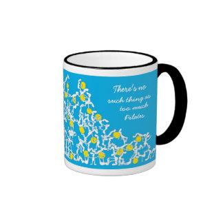 Too much Pilates mug, blue