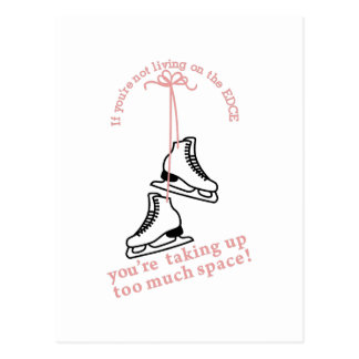 Too Much Space Postcard