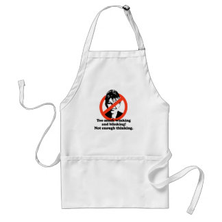 Too much winking and blinking standard apron