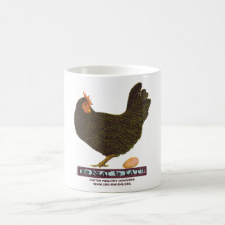 Too Neat To Eat! - Hen Coffee Mug