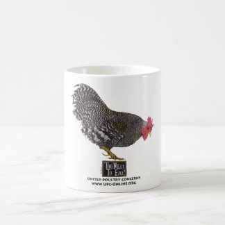 Too Neat To Eat! - Rooster Coffee Mug