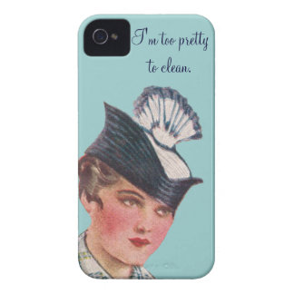Too Pretty To Clean iPhone 4 Cases