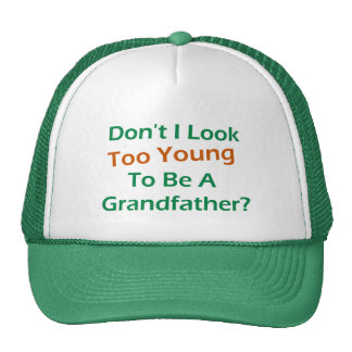 Too Young Grandpa Cap