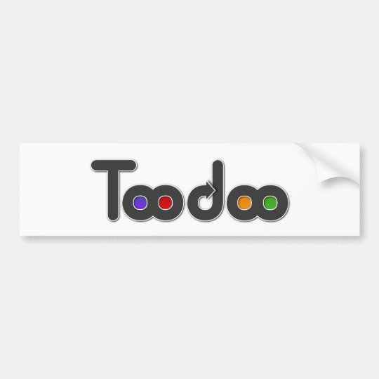 TooDoo Bumper Sticker