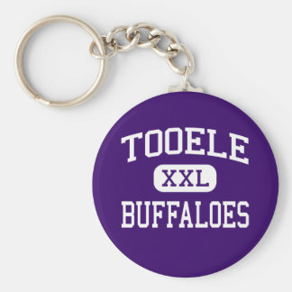 Tooele - Buffaloes - High School - Tooele Utah Key Ring