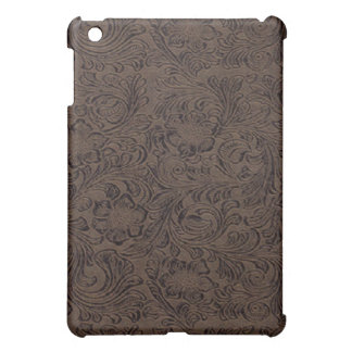 Tool Leather Pattern Hard Shell iPad Case
