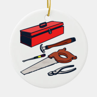 TOOL SET ROUND ORNAMENT